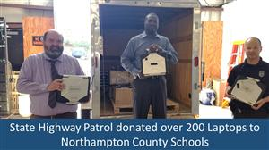 SHP Donates Laptops to NCS